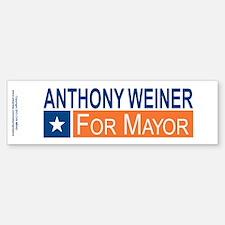 Elect Anthony Weiner OB Bumper Bumper Sticker