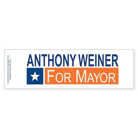Elect Anthony Weiner OB Sticker (Bumper)