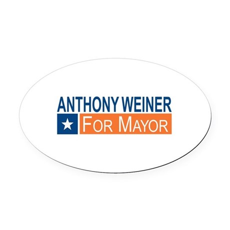 Elect Anthony Weiner OB Oval Car Magnet