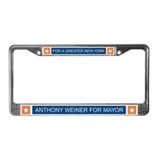 Elect Anthony Weiner OB License Plate Frame