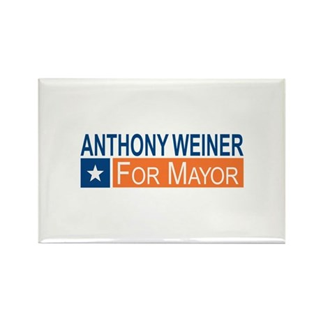 Elect Anthony Weiner OB Rectangle Magnet