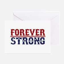 Forever Strong Greeting Card