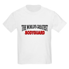"""The World's Greatest Bodyguard"" Kids T-Shirt"