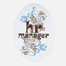 HR Manager Ornament (Oval)