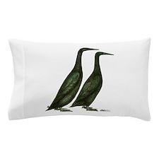 Black Runner Ducks Pillow Case