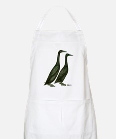 Black Runner Ducks Apron
