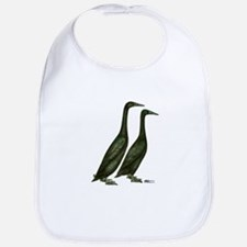 Black Runner Ducks Bib