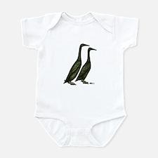 Black Runner Ducks Body Suit