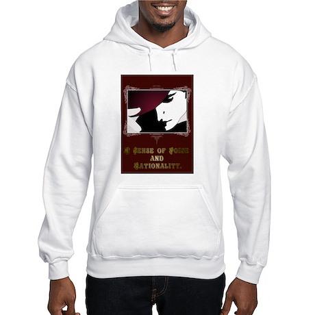 Sense of Poise & Rationality Hooded Sweatshirt