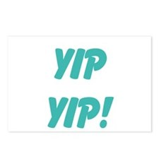 yip yip! Postcards (Package of 8)