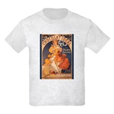 Mucha Chocolate Art Nouveau Label T-Shirt
