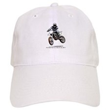Rather be playing in the dirt with a motorbike Baseball Cap