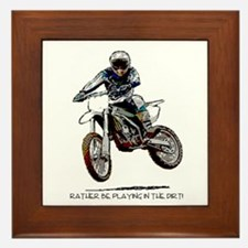 Rather be playing in the dirt with a motorbike Fra