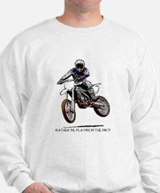 Rather be playing in the dirt with a motorbike Swe