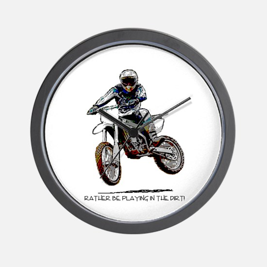 Rather be playing in the dirt with a motorbike Wal