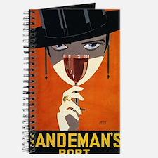 Sandemans Port, Beverage, Vintage Poster Journal