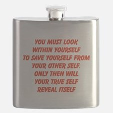 your true self Flask