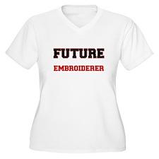 Future Embroiderer Plus Size T-Shirt