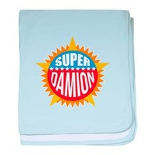 Super Damion baby blanket
