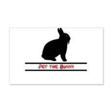 Pet the Bunny Wall Decal