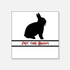 Pet the Bunny Sticker
