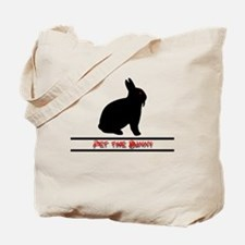 Pet the Bunny Tote Bag