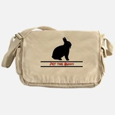 Pet the Bunny Messenger Bag
