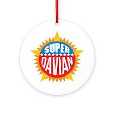Super Davian Ornament (Round)