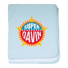 Super Davin baby blanket