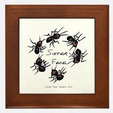 & There Where Ants... Framed Tile