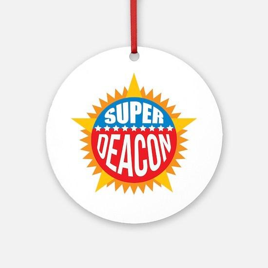 Super Deacon Ornament (Round)