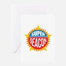 Super Deacon Greeting Card