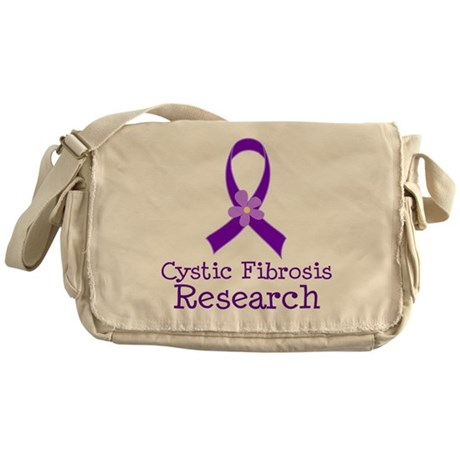 Cystic Fibrosis Research Messenger Bag