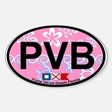 Ponte Vedra - Oval Design. Decal