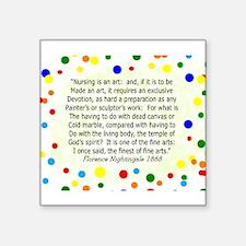 Nursing student FN polka pillow Sticker