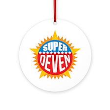 Super Deven Ornament (Round)