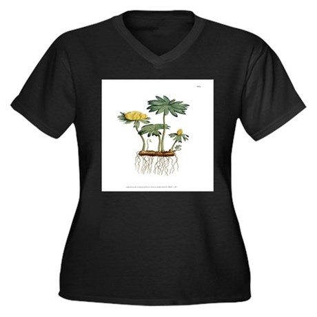 Helleborus Hyemalis PL3 Vol1 Plus Size T-Shirt