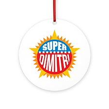 Super Dimitri Ornament (Round)