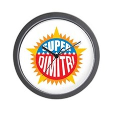 Super Dimitri Wall Clock