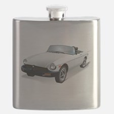 British White Sweetheart Flask