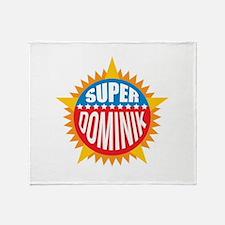 Super Dominik Throw Blanket