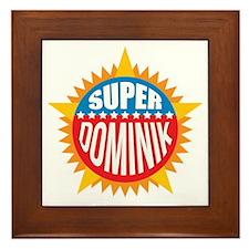 Super Dominik Framed Tile