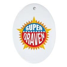 Super Draven Ornament (Oval)