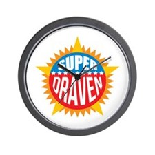 Super Draven Wall Clock