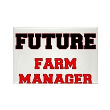 Future Farm Manager Rectangle Magnet