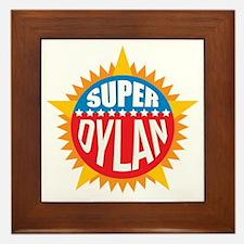 Super Dylan Framed Tile