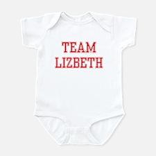 TEAM LIZBETH  Infant Creeper