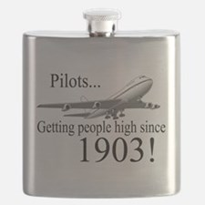 Jet Getting high since 1903 Flask