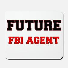 Future Fbi Agent Mousepad