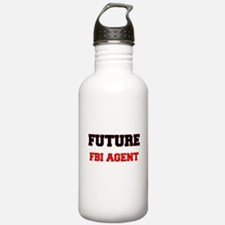 Future Fbi Agent Water Bottle